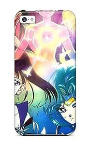 Iphone 5c Sailor Moon 76 S Anime Cartoon Print High Quality Tpu Gel Frame Case Cover