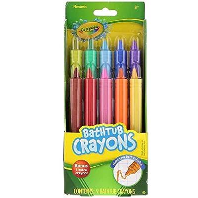 Crayola Bathtub Crayons 10 Count (2 Pack): Beauty