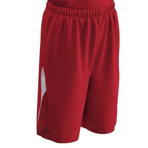 Champro Pivot Reversible Basketball Shorts Scarlet/White - ()