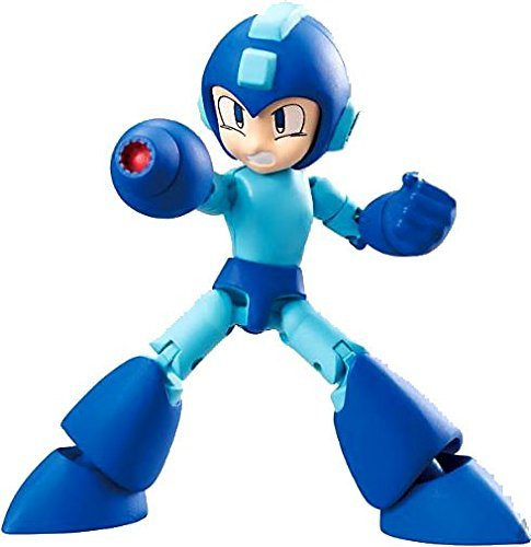 Original Mega Man Figure 66 Action Bandai Shokugan