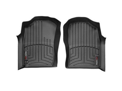 WeatherTech Custom Fit Front FloorLiner for Toyota 4Runner Black
