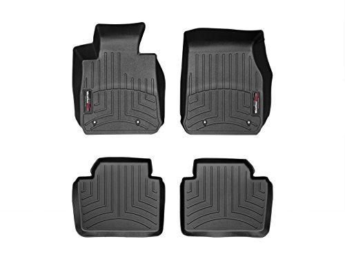 WeatherTech Custom Fit FloorLiner - 44410-1-2-1st & 2nd Row (Black)