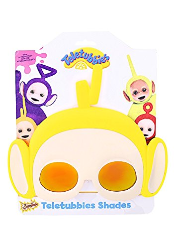 Sunstaches Teletubbies Laa Yellow Sunglasses, Party Favors,