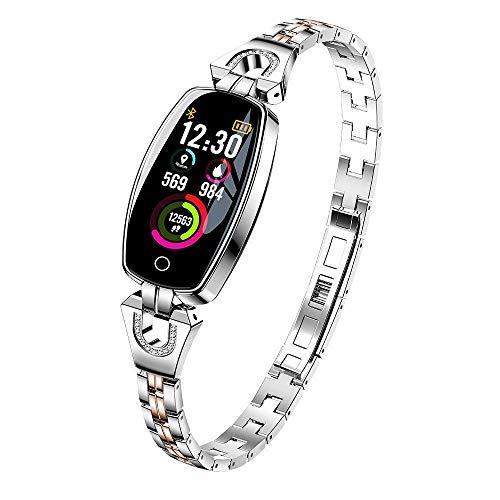 TEEPAO Women Smart Bracelet, H8 Fitness Tracker HR Color Scr