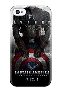 Oscar M. Gilbert's Shop New Style New Premium Case Cover For Iphone 4/4s/ Captain America First Avenger Protective Case Cover 7251562K25072909