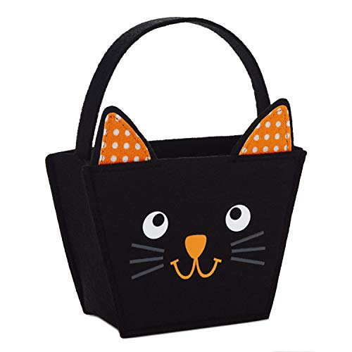Hallmark Small Halloween Gift Bag (Black Cat)