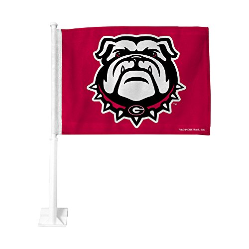 Rico Industries NCAA Georgia Bulldogs Car (Georgia Bulldogs Ncaa Car Flag)