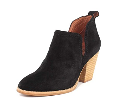 Jeffrey Campbell Womens Rosalee Black Suede Boot - 8 ()