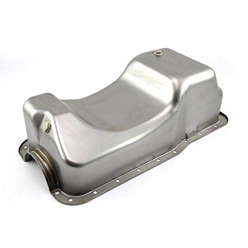 Ford Fox Body Dual Sump Unplated Oil Pan