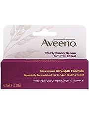 Aveeno 1% Hydrocortisone Anti-Itch Relief Cream