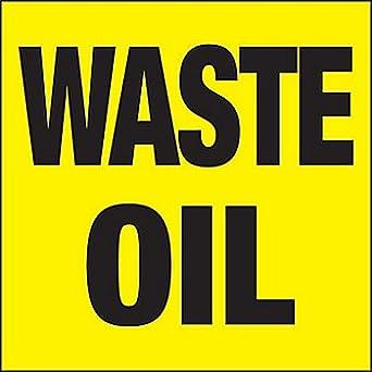 Amazon.com: Etiqueta identificativa de tambor de aceite de ...