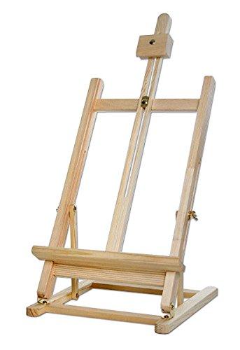 Artina Tisch-Staffelei Sydney aus Holz für Keilrahmen bis 45cm Größe, in Fachhändler Qualität
