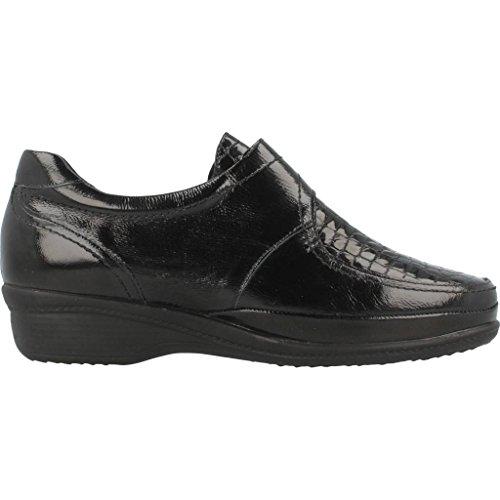 Mujer Marca Mujer Negro de Cordones Color para De Zapatos para PLAJU Cordones Modelo Zapatos E7272 Negro PLAJU xYHtOqtw