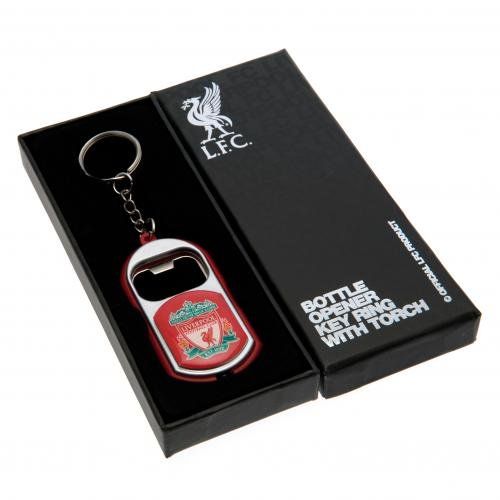 Liverpool F.c. Key Ring Torch Bottle (Bottle Opener Torch)