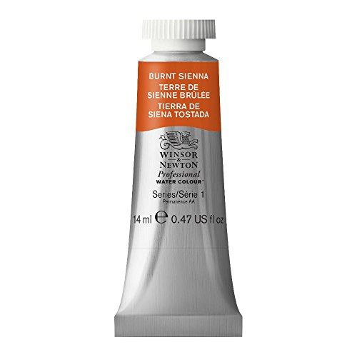 - Winsor & Newton Professional Water Colour Paint, 14ml tube, Burnt Sienna