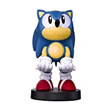Exquisite Gaming Collectible Sonic The Hedgehog Cable Guy Device Holder - Works with Playstation and Xbox Controllers and All Smartphones