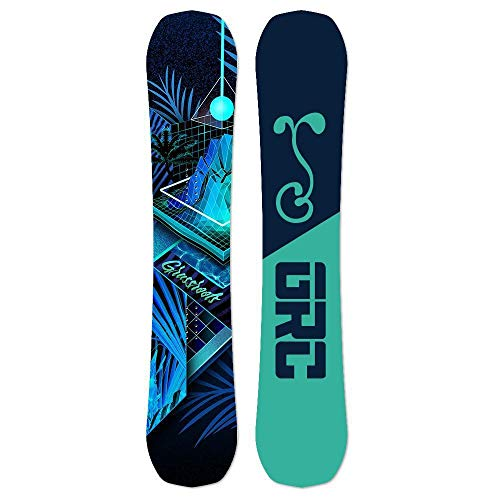 (Grassroots California Never Summer x GRC 2019 Proto Type Two Blacklight Bomber Snowboard )