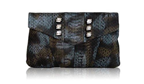 Evening Bag Christopher Inge (Inge Christopher Yasmine Envelope Clutch with Swarovski Crystals)