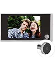 Digital Door Viewer Peephole, 3.5inch LCD Screen 120 Degree Angle Peephole Camera for Home Security, Easy Istallation,Lightweight