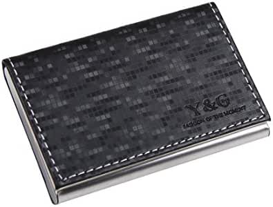 YDC05 Best Business Card Holder Leather Card Case Excellent Designer By Y&G