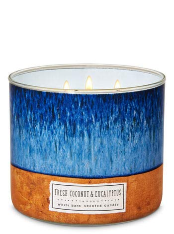 White Barn Fresh Coconut & Eucalyptus 3-Wick Scented Candle - Wicks Candles Coconut 3