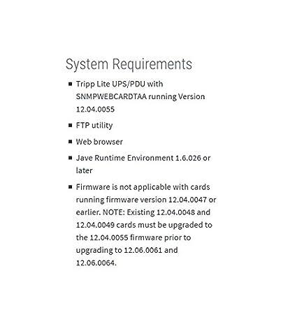 Tripp Lite Tarjeta accesoria de administracion SNMP/web ...