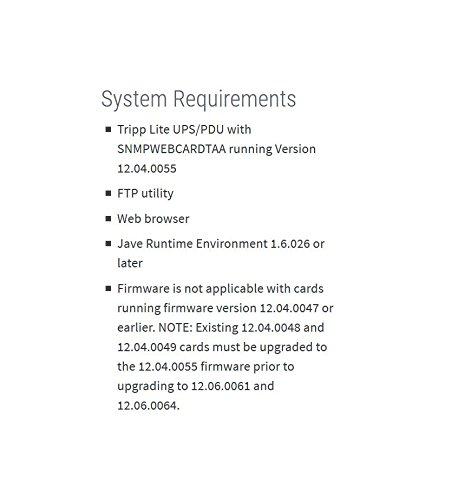 Tripp Lite SNMPWEBCARD UPS Remote Monitoring and control via SNMP, Web, or Telnet - TAA by Tripp Lite (Image #4)