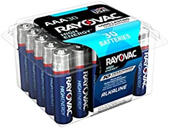 30-Pack Rayovac High Energy Alkaline AAA/1.5 Volt Battery