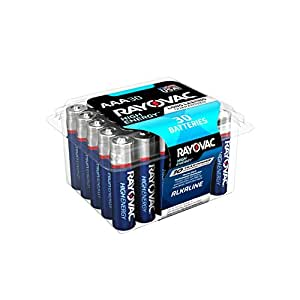 Amazon.com: Rayovac AAA Batteries, Alkaline Triple A