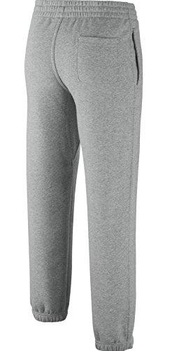 blanc Brossé Avec Dark Boy's Chevilles Gris Grey Gris Nike Pantalon Red Resserrées Polaire Heather N45 white gym gq15HxwHa
