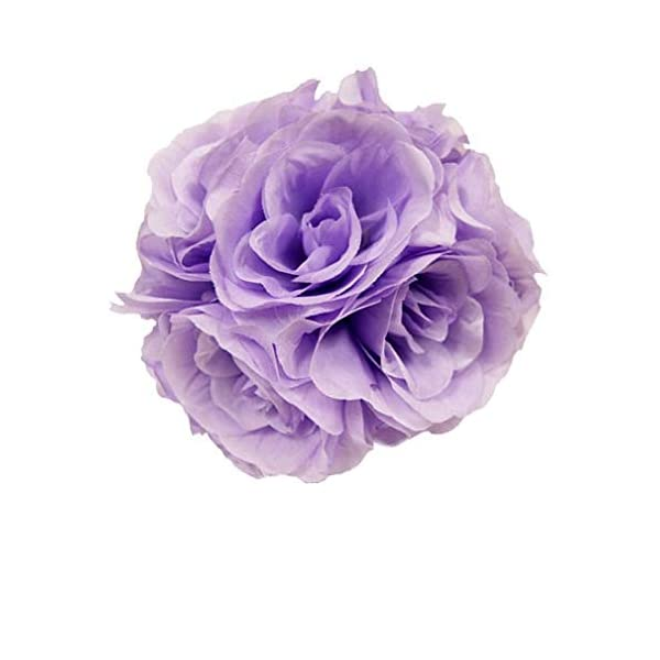 Craft-And-Party-Flower-Rose-Pomander-Kissing-Ball-for-Wedding-Party-Decoration-7-Lavender