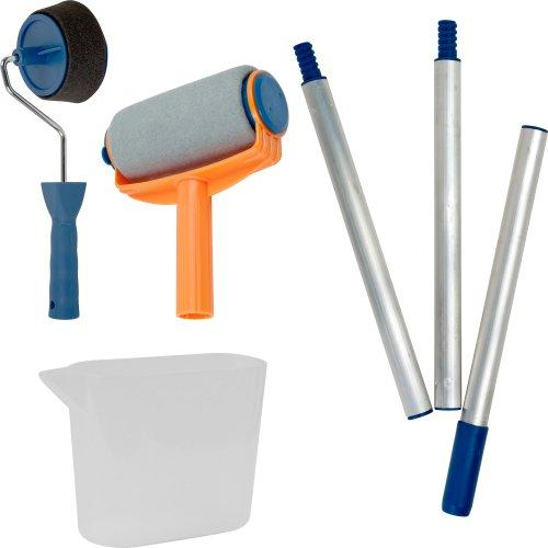 Stalwart 75 pr001 easy paint roller set appliances for home for Wall painting utensils