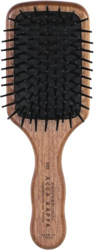 (Acca Kappa Professional Pro Pneumatic Hair Brush, Small Paddle with Heat Resistant Pins)