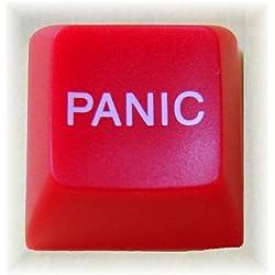 Novelty Computer Keys - Panic Button