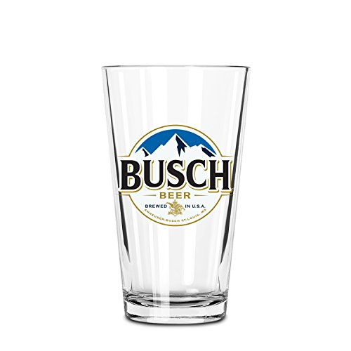 Busch 530317 Nucleated Pint Glass, Set of 2
