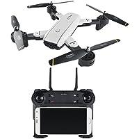 Fiaya SG700 2.4Ghz 4 CH 360° Hold WiFi 2.0MP Optical Flow Dual Camera RC Quadcopter Drone