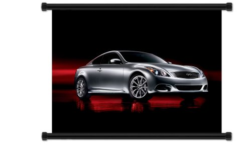 infiniti-g37-fabric-wall-scroll-poster-32-x-24-inches