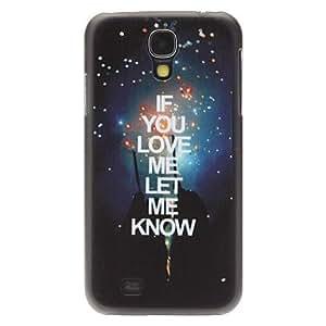 HC-Diseño de moda de la noche Sky Protevtive Patrón de nuevo caso duro para Samsung i9500 Galaxy S4