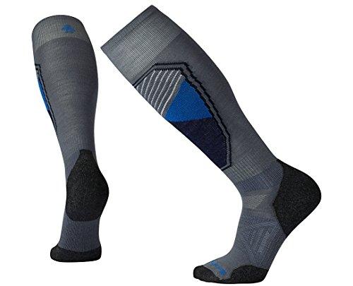 Smartwool Men's PhD Ski Light Pattern Socks (Graphite) Large
