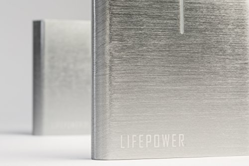 LIFEPOWR A2 S- Portable AC Outlet Battery Pack 20800mAh 120W / 110V (TSA Approved for Airline Travel) External Power Bank Charger for MacBooks, Laptops, Cameras, Camping, CPAP Machines by LifePower