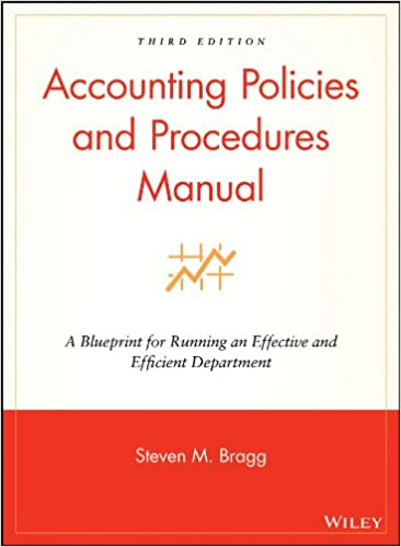 Accounting policies and procedures manual a blueprint for running accounting policies and procedures manual a blueprint for running an effective and efficient department steven m bragg 9780470146620 amazon books fandeluxe Images