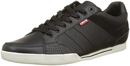 Levi's Turlock 2.0, Sneaker Uomo Nero (Noir Regular Black)