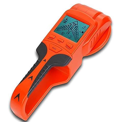 Stud Sensor Finder, RISEPRO Wood Stud Metal Voltage Cable Wire Detector Finder LCD JDT-08