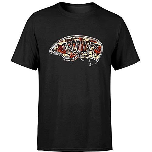 Minetees Taco Life Tshirt Funny Thug Gangsta Mexican Food Tee (Unisex T-shirt/Black/5XL) -