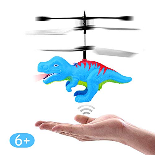 Remote Control Flying Ball Dinosaur Helicopter Toys Gifts 6 Year Old Boys Kids Birthday Xmas Party Supplies,Mini Hand Control Flying Dinosaurs