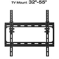 TV Wall Mount Bracket LED LCD TV Bracket fits for most of Samsung/Coby/LG/VIZIO/Sharp/Sony/Toshiba/Seiki tv++(tilt, 32-55 inch)