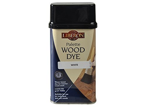 Liberon Palette Wood Dye White 250ml by Liberon