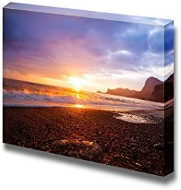 Sea Sunset Landscape at The Beach Wall Decor