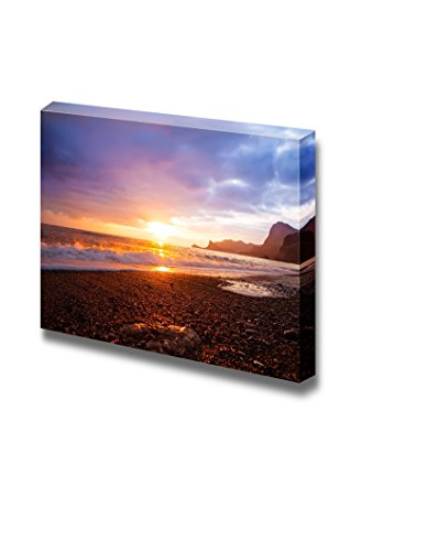 Sea Sunset Landscape at the Beach Wall Decor ation