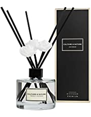 CULTURE & NATURE Reed Diffuser 6.7 oz ( 200ml ) French Lavender Scented Reed Diffuser Set